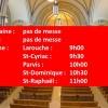 100 PERSONNES PERMISES DANS LES LIEUX DE CULTE